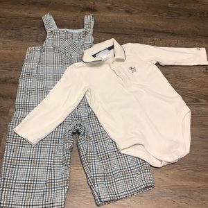 Janie and Jack overall outfit